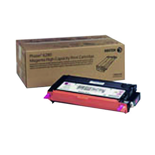 Xerox Phaser 6280 Magenta High Yield Toner Cartridge 106R01393