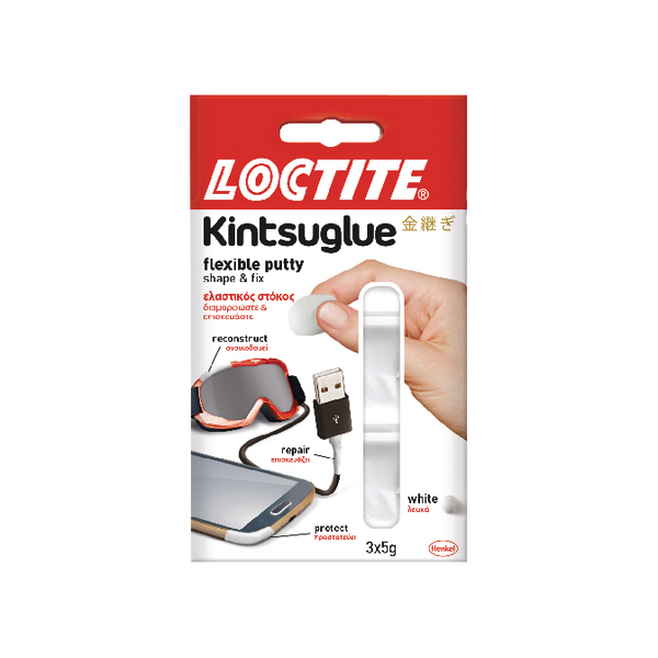 Loctite Kintsuglue Putty White 5g (Pack of 3) 2239177
