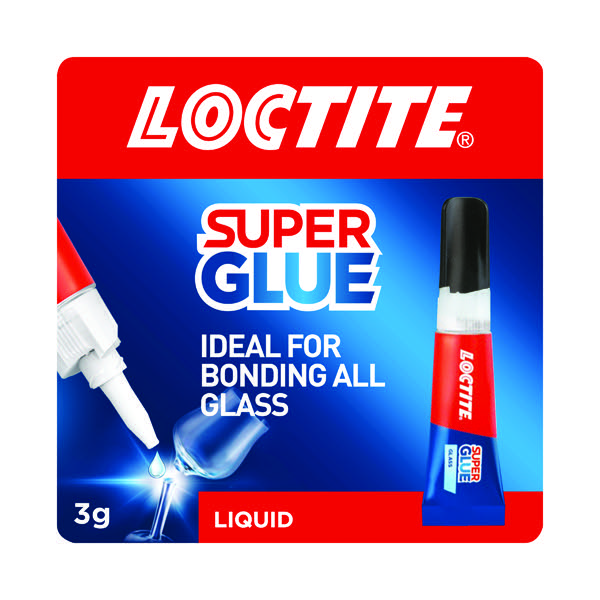Loctite Glass Bond Super Glue 3g 1628817