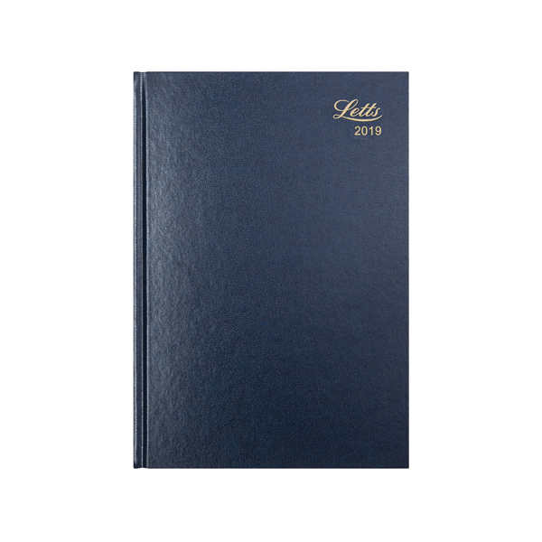 Letts 11X Diary Blue A5 Day/Page 2019 19-T11XBL