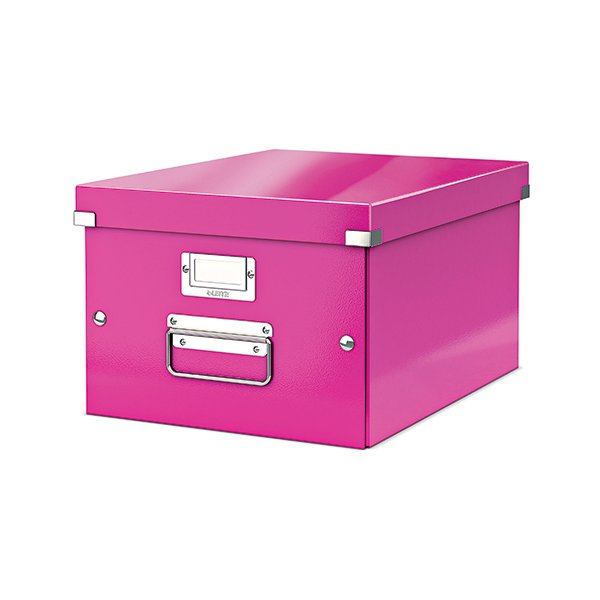Leitz Click & Store Medium Storage Box Pink 60440001