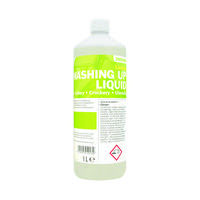 2Work Washing Up Liquid Concentrate Lemon Fragrance 1 Litre 401