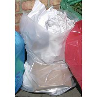 2WORK REFUSE BAGS ON ROLL CLEAR (pk 50)