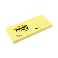 Post-it Notes 38 x 51mm Canary Yellow (Pack of 12) 653Y