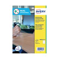 Avery Removable A3 Antimicrobial Film Labels (Pack of 10) AM001A3