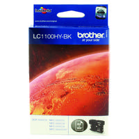 Brother LC-1100 High Yield Black Inkjet Cartridge LC1100HYBK