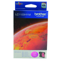 Brother LC-1100 High Yield Magenta Inkjet Cartridge LC1100HYM
