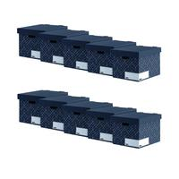 Bankers Box Storage Box Grey (Pack of 5) Buy One Get One Free 4482801