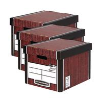 Bankers Box Tall Box Woodgrain 3 For 2 BB810616