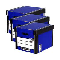 Bankers Box Premium Tall Box Blue 3 For 2 BB106617