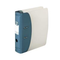 Hermes 78mm Heavy Duty Lever Arch File A4 Blue 832007