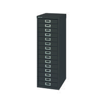 FF BISLEY 15 NON LOCK MULTIDRAWER BLACK