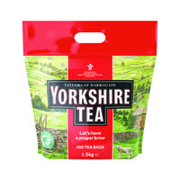 Yorkshire Tea Soft Water Tea Bag Pk 480 A03059