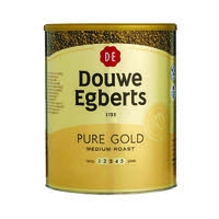 Douwe Egberts Pure Gold Continental Instant Coffee 750g 257750