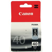 Canon PG-40 Black Inkjet Cartridge 0615B001