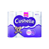 Cushelle Cushioned Toilet Roll (Pack of 12) 1102089