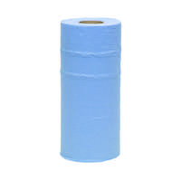 2Work 2-Ply Hygiene Roll 250mmx40m Blue CPD43579