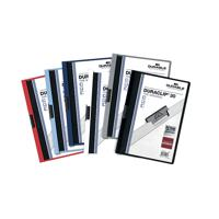 DURACLIP FILE 3MM A4 ASSORTED PK25