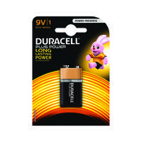 Duracell Plus Battery 9V (Extended shelf life and safety tested) 81275454