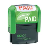 COLOP EOS R17 PAID Pre-Inked Circular Stamp C109531PAI
