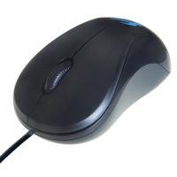 Computer Gear 3 Button Optical Scroll Mouse Black 24-0542