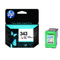 HP 343 Cyan/Magenta/Yellow Inkjet Cartridge C8766EE