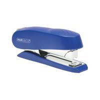 Rapesco Luna Half Strip Stapler Heavy Duty Blue 0237