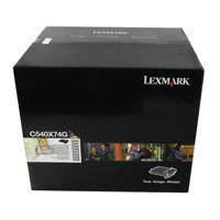 LEXMARK IMAGE KIT BLK/COL C540X74G PK4