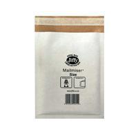 JIFFY MAILMISER 170X245 WHITE PK10