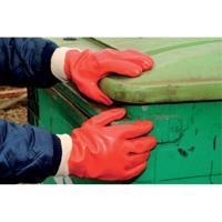 Polyco PVC Knitwrist Glove One Size P10R/E10