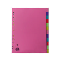 Concord Divider 12-Part A4 Extra Wide Pastel Colours 71799/J17