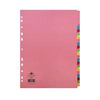 Concord Divider A-Z 20-Part A4 Pastel Colours 77299/72