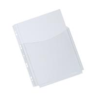 Q-Connect Expanding Punched Pocket 3/4 Length Front A4 (Pack of 5) KF00139