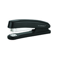 Q-Connect Plastic Stapler Full Strip Black KF01057