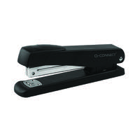 Q-Connect Metal Stapler Full Strip Black KF01231