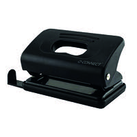 Q-Connect Light Duty Hole Punch 10 Sheet Black 875