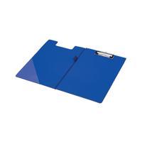 Q-Connect PVC Foldover Clipboard Foolscap Blue KF01301
