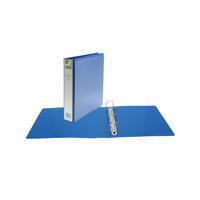 Q-CONNECT 40MM PR 4D RING BINDER A4 BLUE
