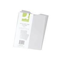 Q-Connect Card Holder Polypropylene A6 (Pack of 100) KF01949