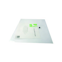 Q-CONNECT DOCUMENT FOLDER A3 CLEAR PK12