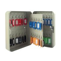 Q-Connect 48-Key Cabinet Pearl Grey KF04027