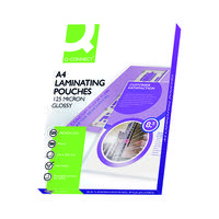Q-Connect A4 Laminating Pouch 250 Micron (Pack of 100) KF04116
