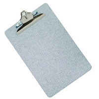Q-Connect Metal Clipboard Foolscap Grey (All metal construction for durability) KF05595