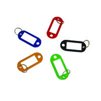 Q-Connect Key Fobs Assorted (Pack of 100) KF10869