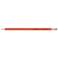 Q-Connect HB Rubber Tipped Office Pencil (Pack of 12) KF25011