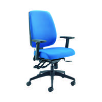 Cappela Agility High Back Posture Chair 400x800x600mm Blue KF73886