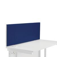 FR FIRST DESK SCREEN 400H X 1200W BLUE