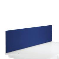 FR FIRST DESK SCREEN 400H X 1600W BLUE