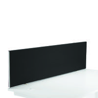 FR FIRST DESK SCREEN 400HX1600W BLACK