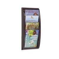 Fast Paper Quick Fit System Wall Display 4 x A4 Black F406101